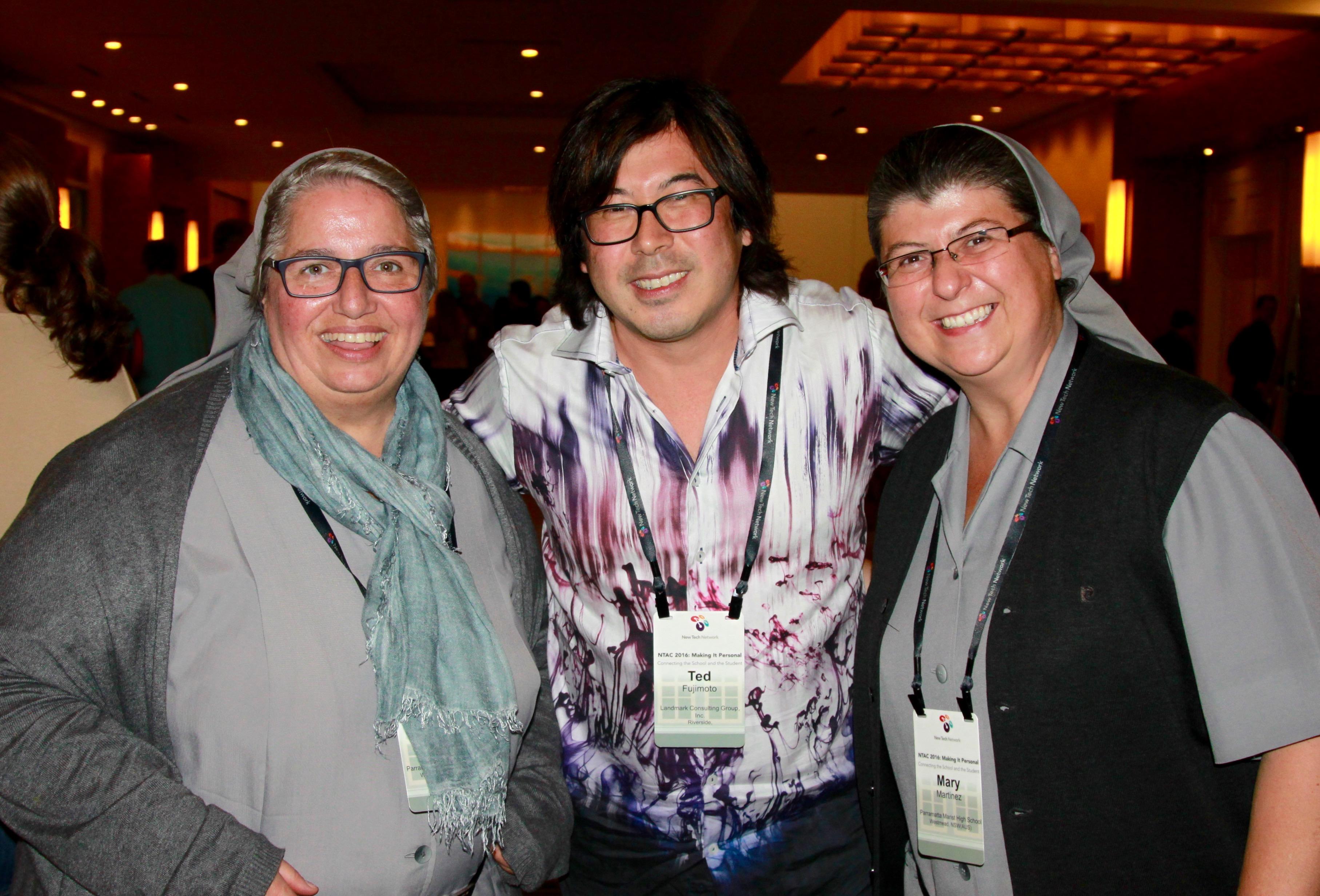 Con Ted Fujimoto, Influencer