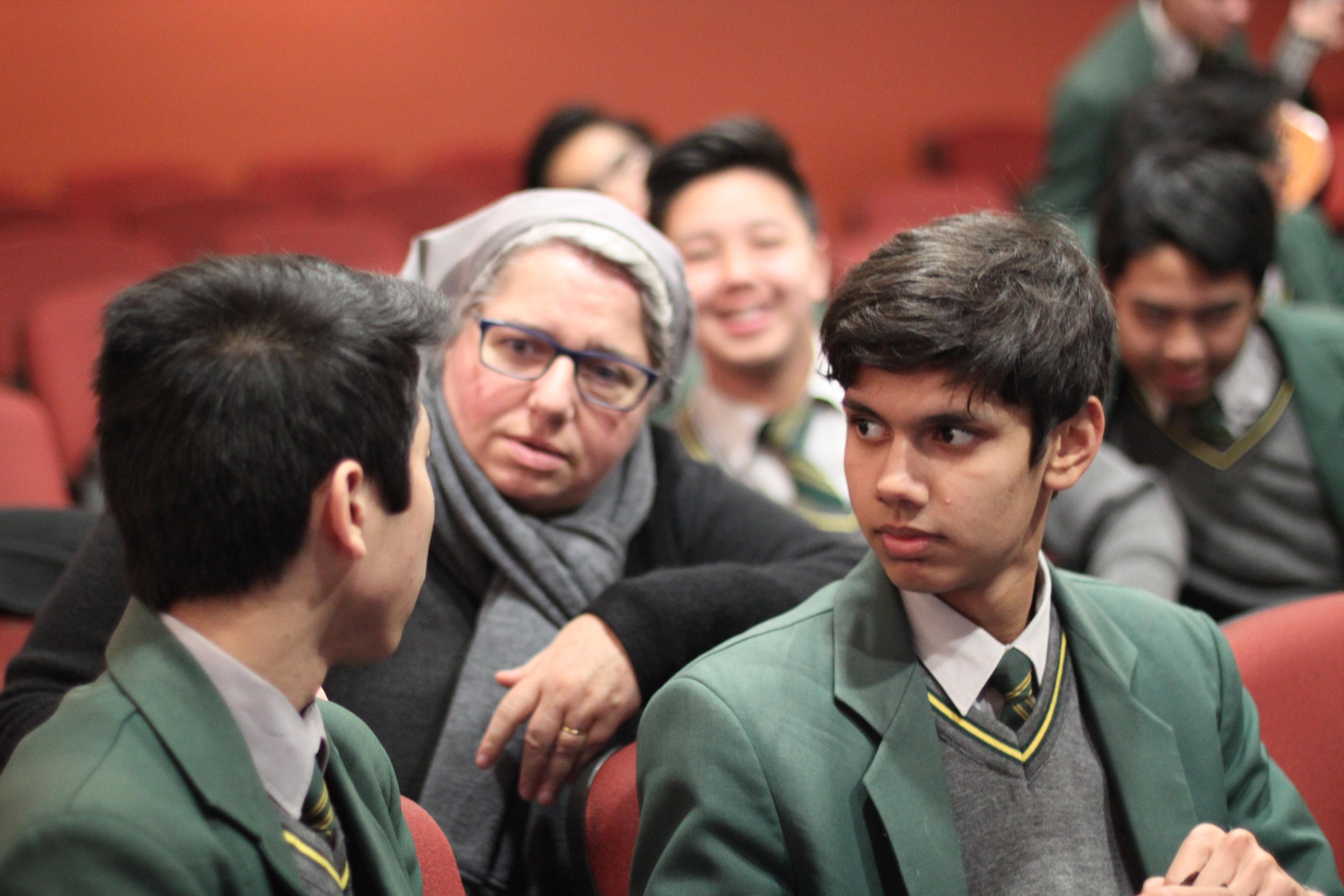 Alumnos de Parramatta Marist High School