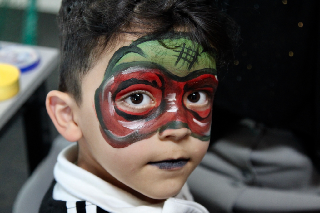 Ninja- Face Painting