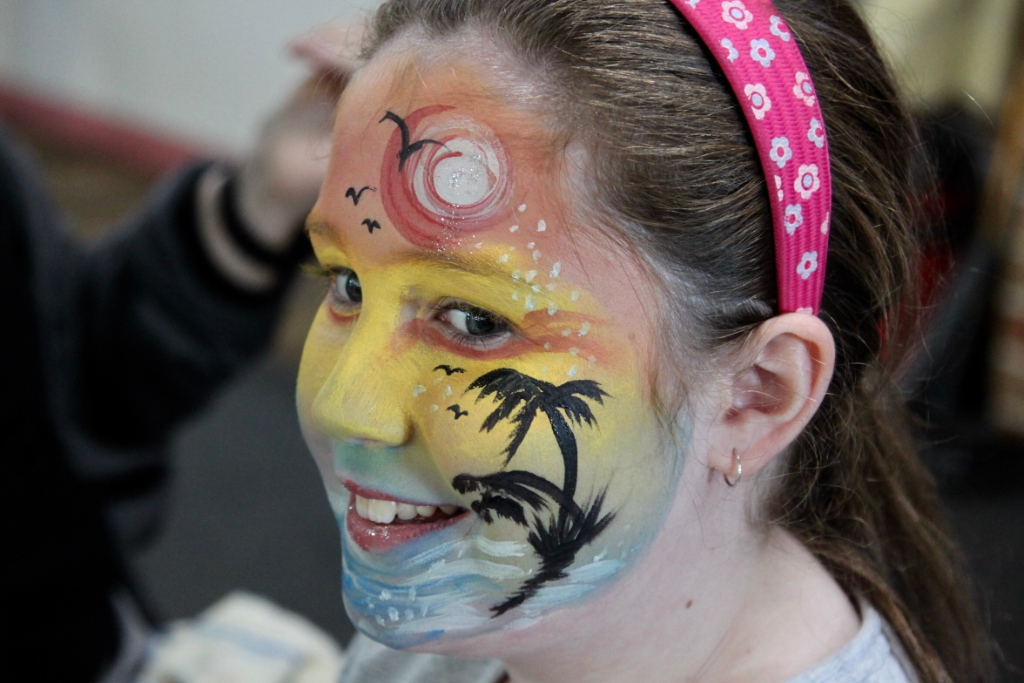 Hawai- Face Painting
