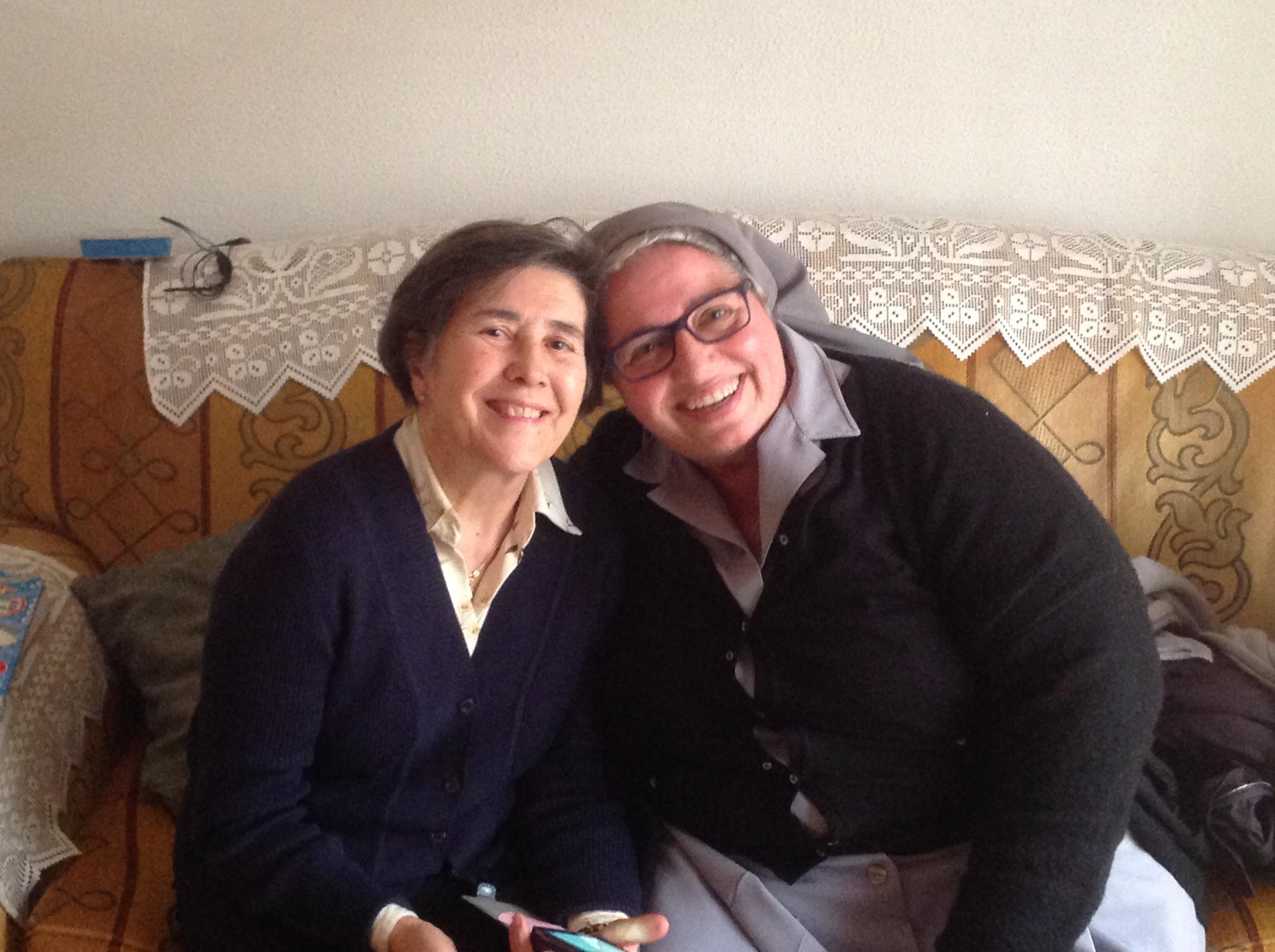 Con Teresa Ruano